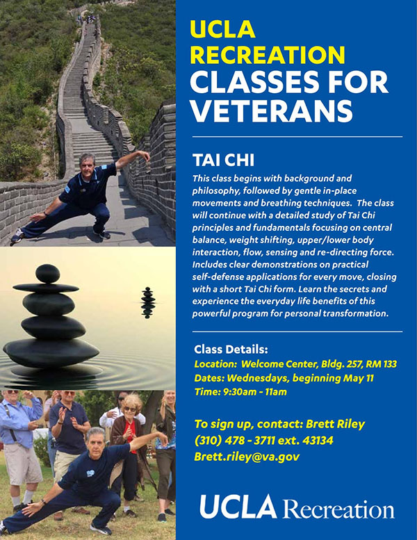 UCLA Recreation Classes for Veterans